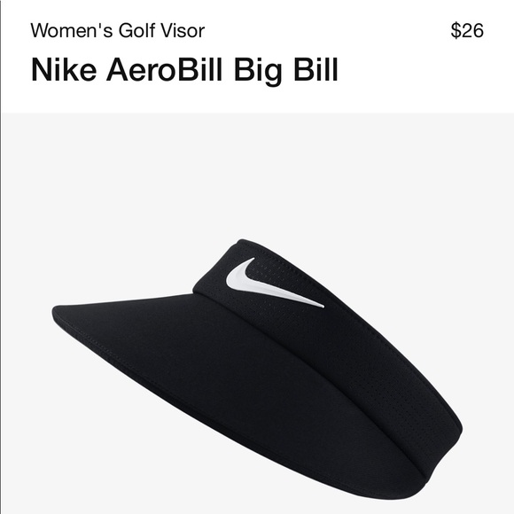 Nike Women s Aerobill Big Bill Visor NWT! 1990ecf6aa8